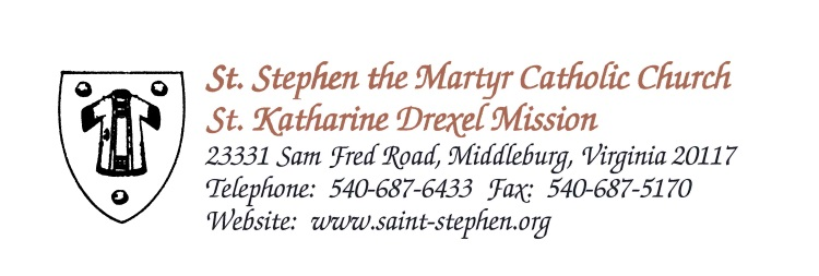 St. Stephen the Martyr Church logo